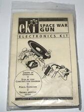 SPACE WAR GUN vintage EKI electronic project UNBUILT science toy kit lab set NOS