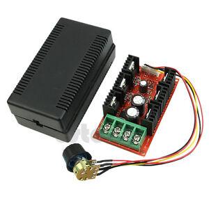 12V 24V 48V MAX 10-50V 40A DC Motor Speed Control PWM HHO RC Controller 2000W