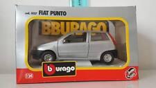 BBURAGO BURAGO FIAT PUNTO GRIGIA ART. 0127 1:24 VINTAGE MADE IN ITALY
