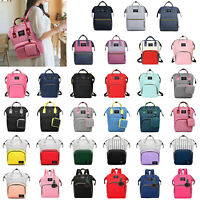 Maternity Bag Baby Changing Bags Nappy Diaper Mummy Backpack Large Rucksack Tote