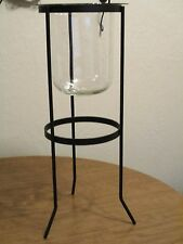 Partylite Seville Hurricane Candle Holder And Stand