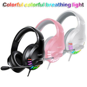 Gaming Headset  Stereo Mic Headphones For Xbox One PS4 S X Switch B PC Laptop