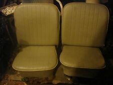 2 rebuilt seats 66 vw bug very nice