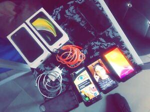 Lire la description Vend lot téléphone iPhone, Samsung, Huawei