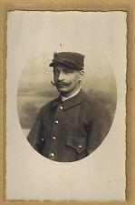 Cpa RPPC Carte Photo Militaire Soldat Prisonnier m0289