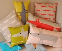 Scion Mr Fox & Little Fox Fabric. Cushions & Covers REVERSIBLE with ZIP DESIGNER