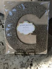 "NEW Pottery Barn Kids Jenni Kayne Gold GLITTER letter ""G"" 1 PIECE) 10"" Tall"