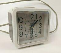 Vintage Alarm Clock Westclox Wainscot Drowse Dialite Model No. 22208
