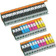 30x Tinte für Canon Pixma IP4850 IP4950 IX6550 MG5150 MG5350 MG5250 MX895 MG6150