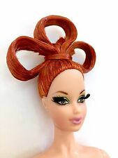 NUDE MATTEL BARBIE Auburn POP LIFE  Pivotal Articulated STEFFIE Doll FOR OOAK