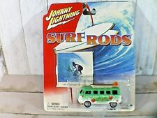 "Johnny Lightning Surf Rods 1966 Volkswagen Samba Bus "" Makaha ""  2003"