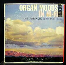 Buddy Cole - Organ Moods In Hi-Fi LP VG CL 874 6i Mono Vinyl 1956 Record