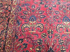 Antique Persian Sarouk Oriental Rug Large_10.4 x 14.7_Absolutely A Great Carpet