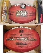 Super Bowl 41 XLI Wilson Official NFL Game Football Indianapolis Colts vs. Bears