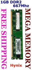 Hynix 1GB DDR2 PC2-5300 667MHz Desktop Memory QUALITY