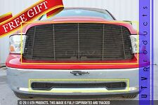 GTG 2009 - 2012 Dodge Ram 1500 2PC Gloss Black Replacement Billet Grille Kit