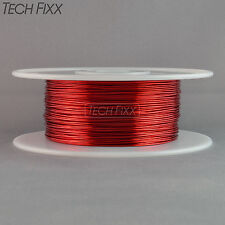 Magnet Wire 18 Gauge AWG Enameled Copper 400 Feet Coil Winding 155C Red
