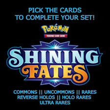 Pokemon TCG Sword & Shield: Shining Fates: SINGLES/PICK A CARD ~ C/UC/R/HR/RH/UR