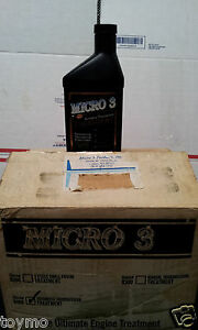Micro 3 Automatic Transmission Treatment Conditioner Part 9400 16oz 12 Pack Case