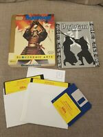 "Budokan The Martial Spirit for PC 5.25"" Small  Big Box, 1989, VGC, CIB"