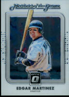 2016 Donruss Optic Masters of the Game #13 Edgar Martinez Mariners Baseball MLB