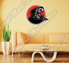 "Welder Weld Welding Helmet Fabrication Wall Sticker Room Interior Decor 22""X22"""