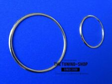 For Toyota Supra MKIV 93-02 Chrome Rings For Ignition & Lighter Alloy Surrounds