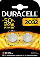 2x Duracell Specialty 2032 Lithium 3V Knopfzelle 1x2er Blister CR2032 DL2032