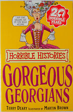 Horrible Histories Book - Gorgeous Georgians Paperback Kids Young Adults Book