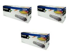 3x Brother Genuine TN-251BK BLACK Toner HL3150CDN 3170CDW M9140CDN 2.5K Pages