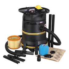 More details for pc35110v sealey vacuum cleaner industrial wet & dry 35ltr 1200w/110v m class