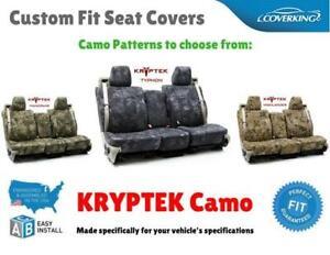 Seat Covers Ballistic Kryptek For Nissan Pathfinder Custom Fit