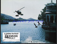 JAMES BOND OCTOPUSSY ORIG FRENCH PHOTO 1983 INDIA FILM LOCATION