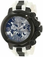 New Invicta Men's 11671 Coalition Force SWISS MADE Chronograph White Strap Watch