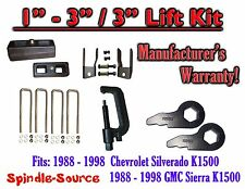 "88 - 98 Chevrolet GMC 1500 Torsion Level 3"" FORGED KEYS + EXT + 3"" Blocks + TOOL"