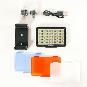Commlite CM-L50II Dimmable Camera LED Video Light Mini camera Light