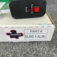 Utopia Elsg 1 Alb Edgelit Led Exit Lighting Fixture Single Face Green Letter