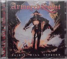 ARMORED SAINT / SAINTS WILL QONQUER / METAL HAMMER GREEK PROMO CD / 8 SONGS 1999