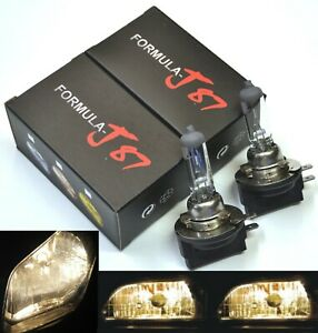 Rally H11B 100W 3800K Stock Two Bulbs Head Light Low Beam Replacement High Watt