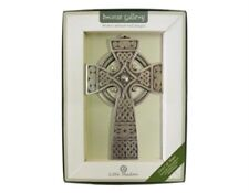 Bronze Plated Cross of Hope Design Wall Hanging Decor Ornament Decorative Plaque