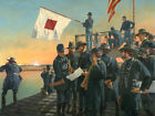 """Signaling the Assault on Fort McAllister, December 13, 1864"" Don Troiani Print"