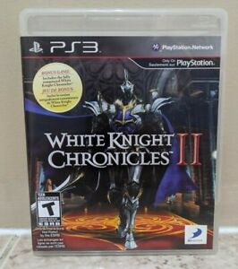 White Knight Chronicles II (PlayStation 3, 2007) PS3