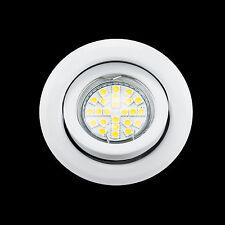 Einbauspot Einbaustrahler Einbaurahmen rund Einbauleuchte MR16  - LED GU10 Mög.