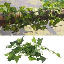 Artificial Vine Reptile Lizards Terrarium Chameleons Climb Rest Plants Leaves