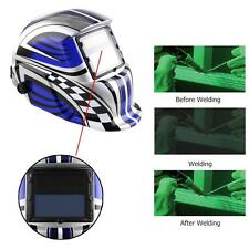 Solar Auto Darkening Welding Helmet Tig Mig Arc Mask Grinding Welder Mask 1# #T