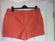 Boden Pippa Shorts. Broiderie Shorts in Coral Reef. UK 16 EUR 42-44 US 12