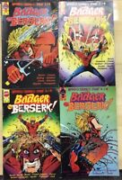 BADGER GOES BERSERK! set of (4) issues #1 #2 #3 #4 (1989) First Comics FINE-