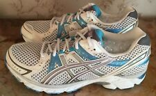 ASICS Gel-1170 White/Blue/Silver Sneakers Men's Size 10.5 or Women's Size 12