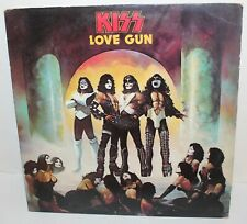 KISS Love Gun Vintage LP Vinyl Record Album NBLP 7057-7 98 Supply Depot Insert