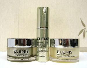 Elemis Pro Collagen Definition Day/Night Cream/Face & Neck Serum/Eye & Lip/Oil